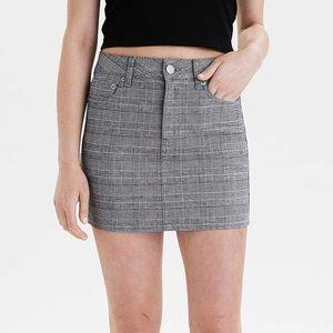 American Eagle Checkered Mini Skirt